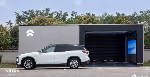 The 260th NIO Second-Generation Battery Swap Station Came Online in Henan