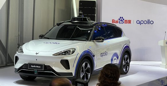 Partnered with BAIC Acrfox, Baidu unveiled its 5th generation Robotaxi